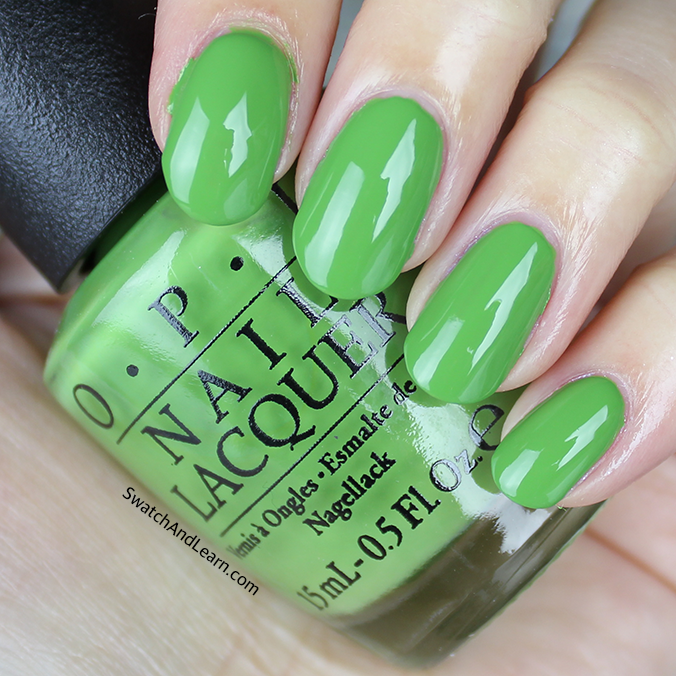OPI New Orleans Collection - I\'m Sooo Swamped! I call this Shrek ...