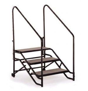 Best Portable Steps With Handrails For 24H Or 32H Mobile Stage 400 x 300