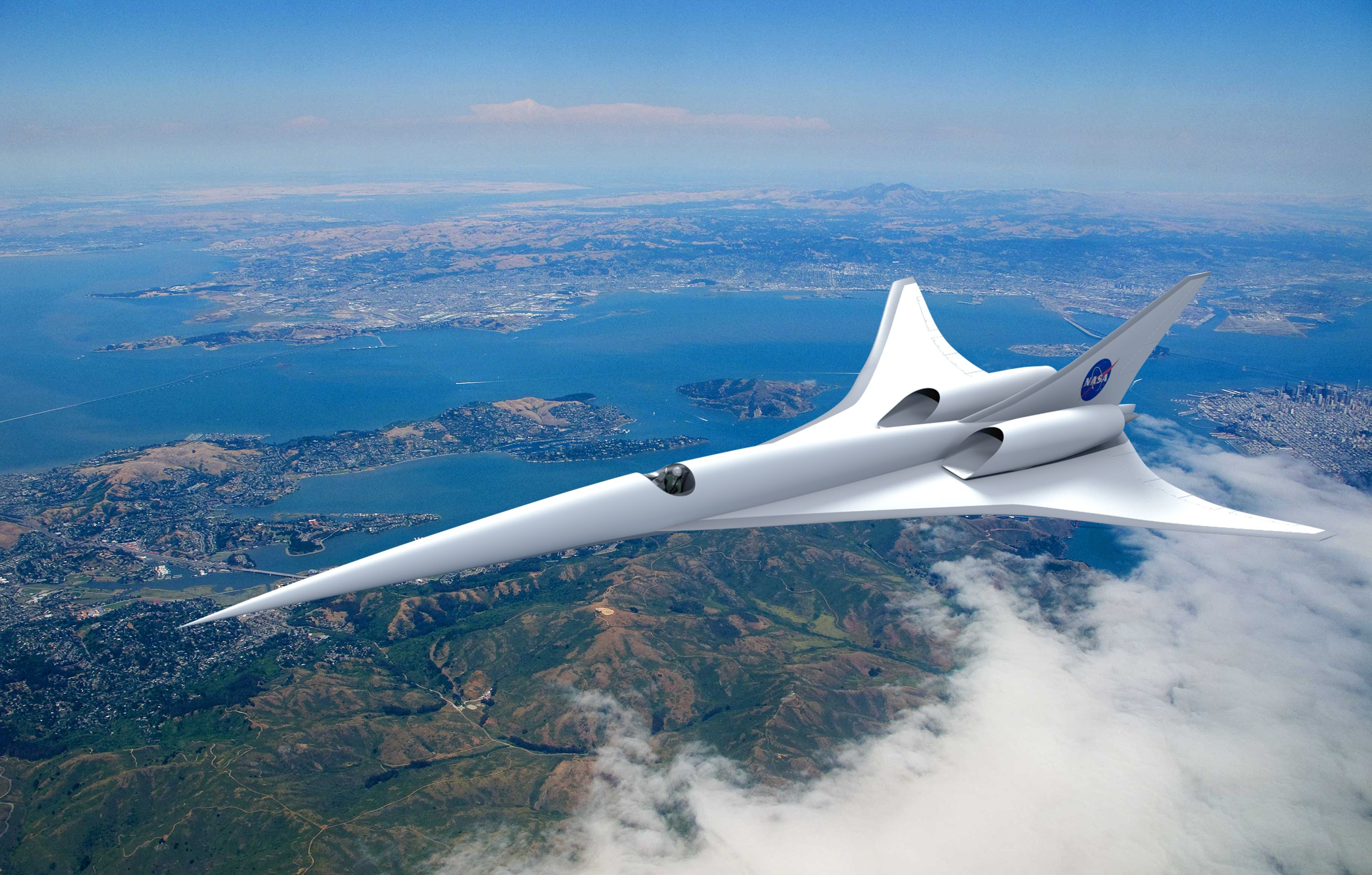 Nasa Invests In Future Of Aviation With Supersonic Research Aircraft Nasa Supersonic Aircraft