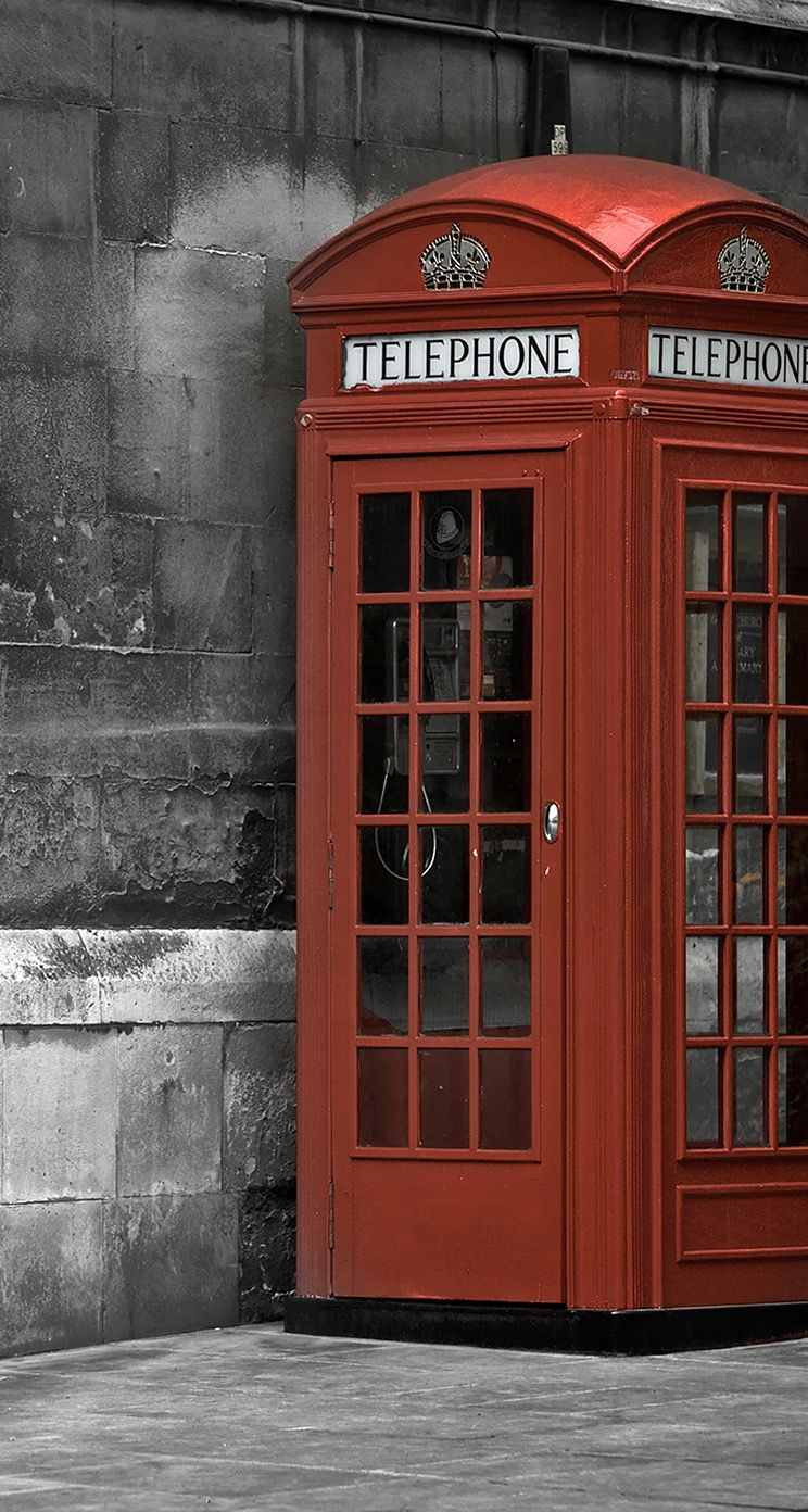 TAP AND GET THE FREE APP! City London Call-Box Red Telephone England ...