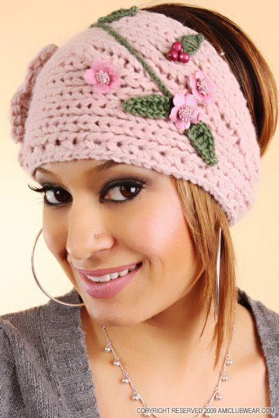 Pink Headband | Crochet Love | Pinterest