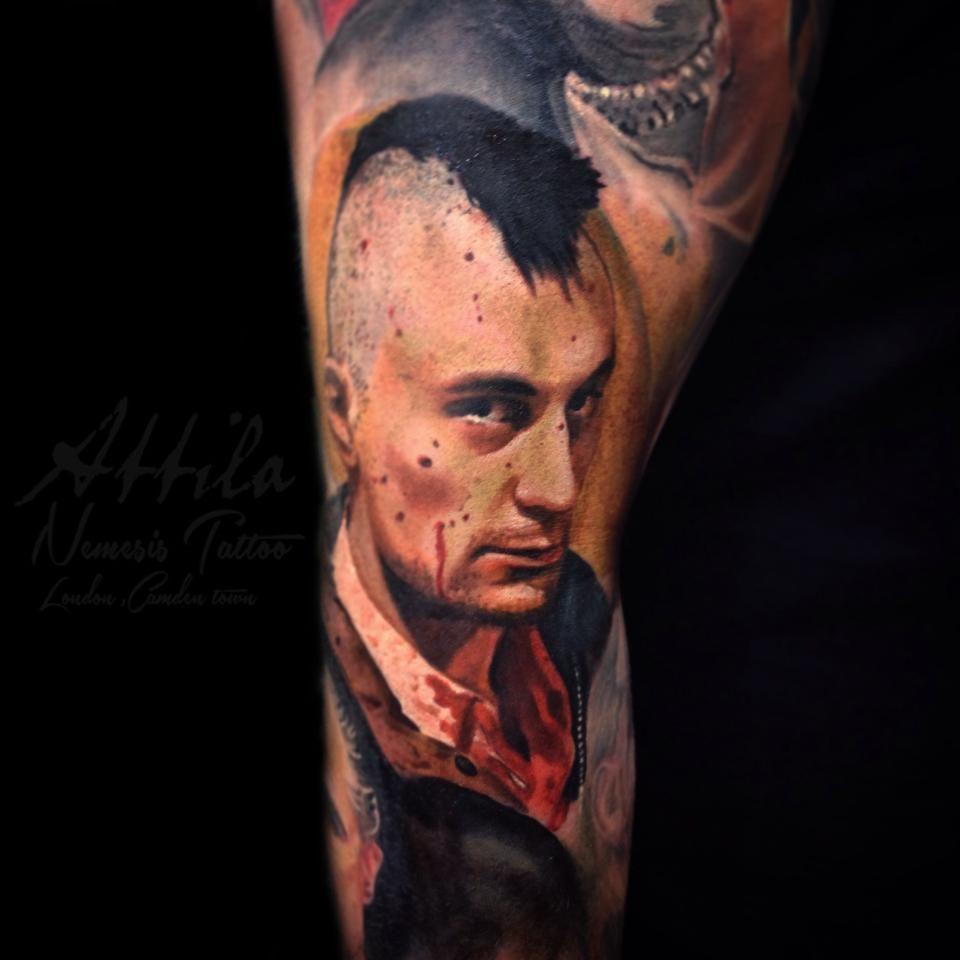 Robert De Niro taxi driver tattoo (con imágenes) Tatuaje