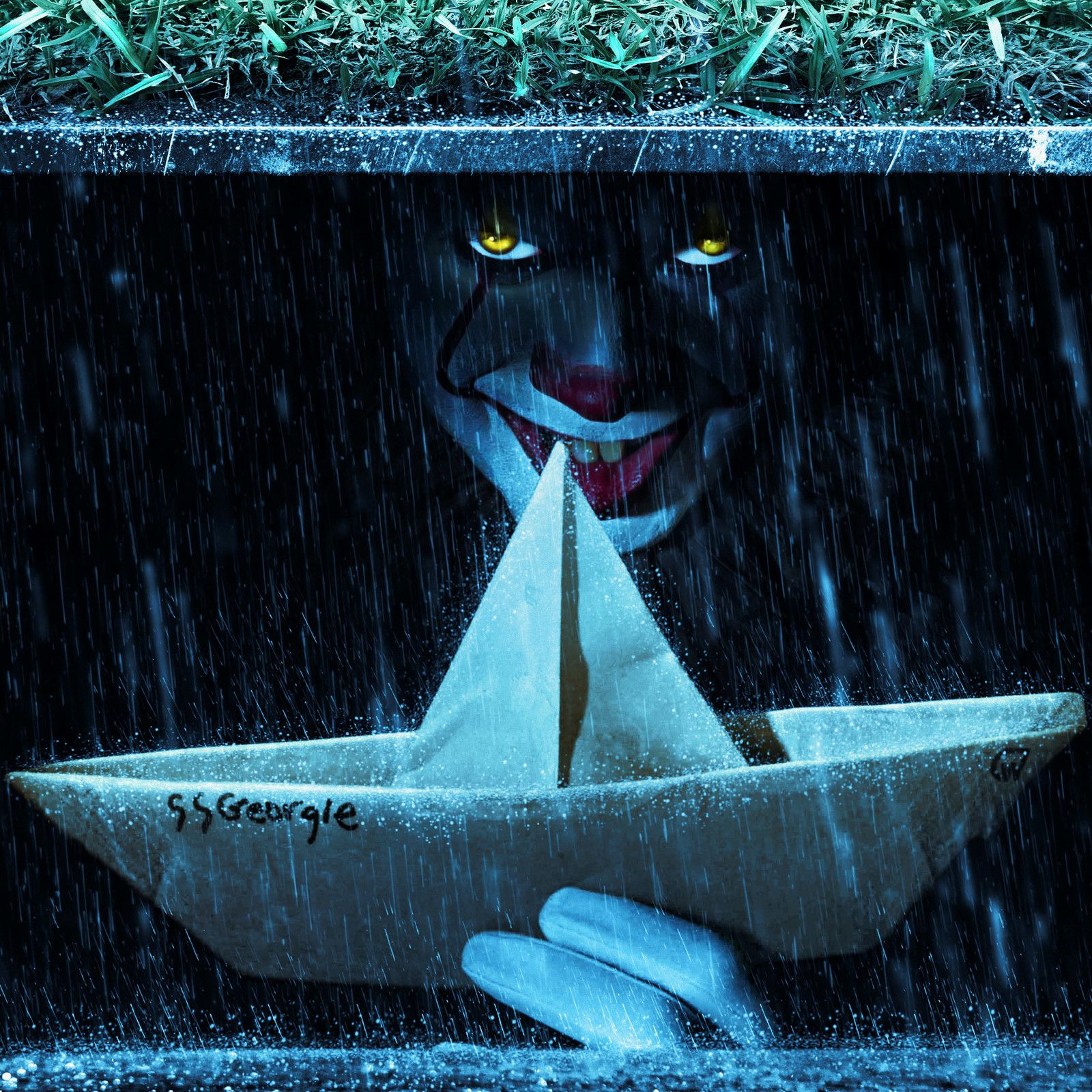 IT 2017 - Pennywise in sewer, William Gray