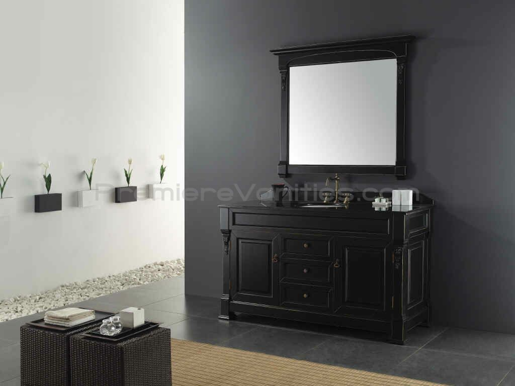Fresh Black Vanity Bathroom Ideas
