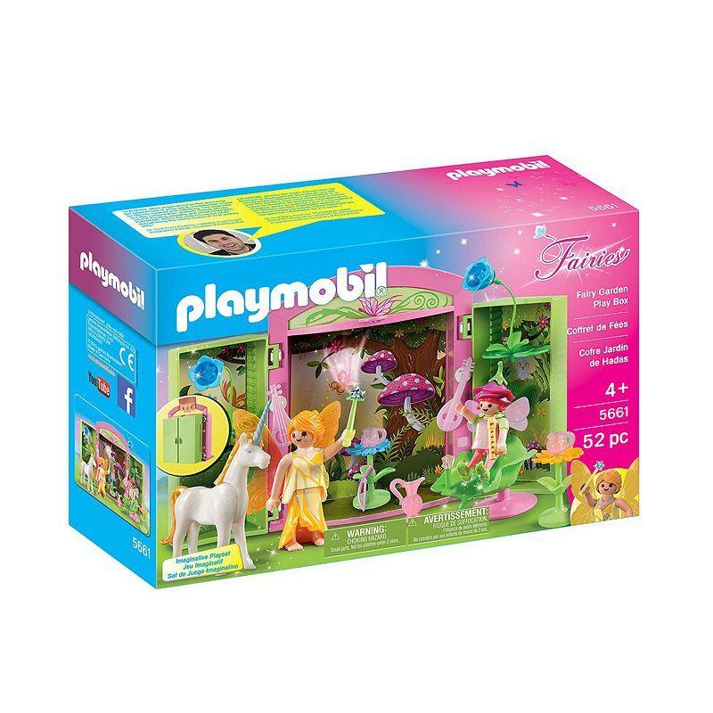 Playmobil Fairy Garden Play Box - 5661, Multicolor