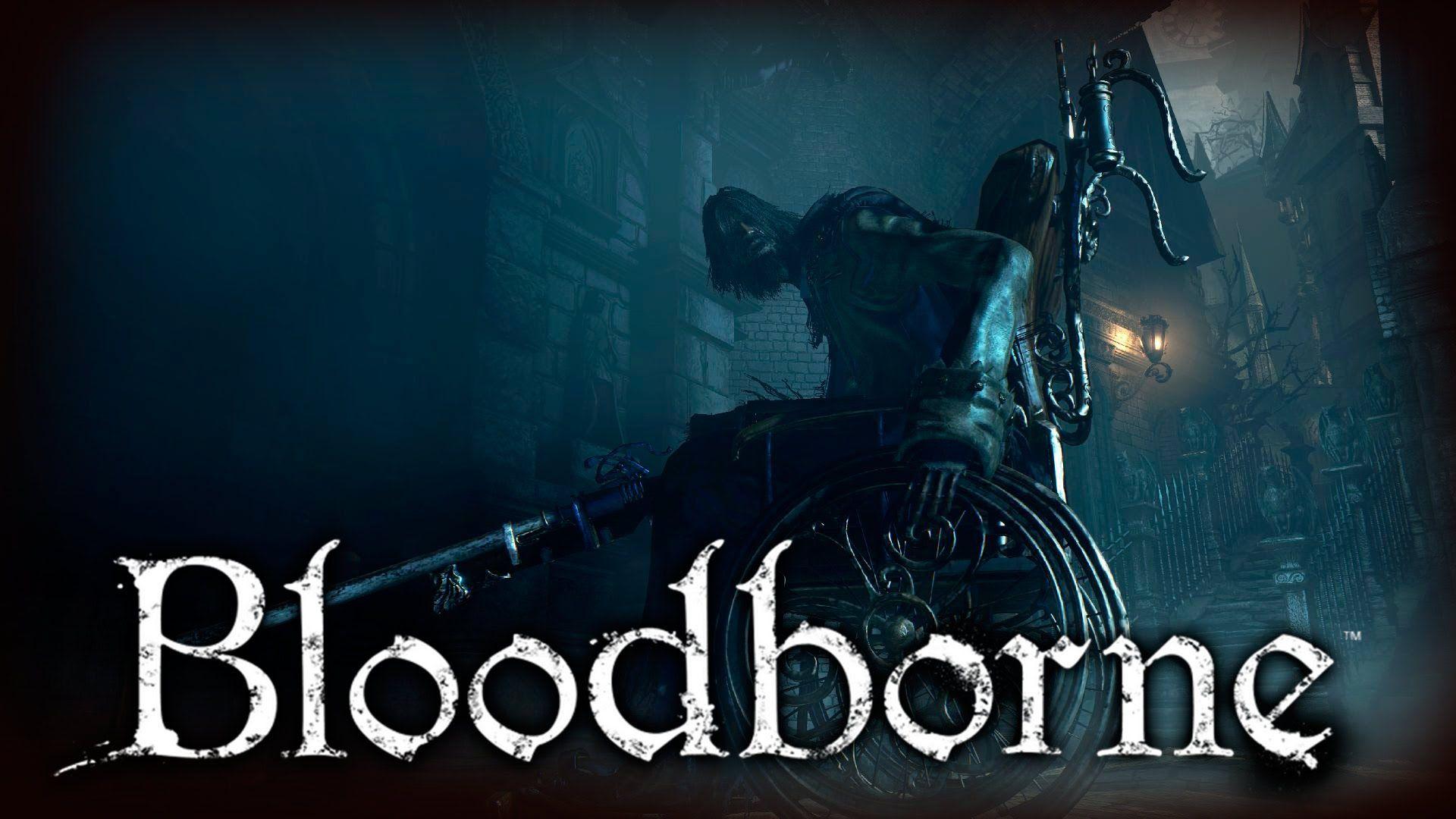 bloodborne video game wallpaper p