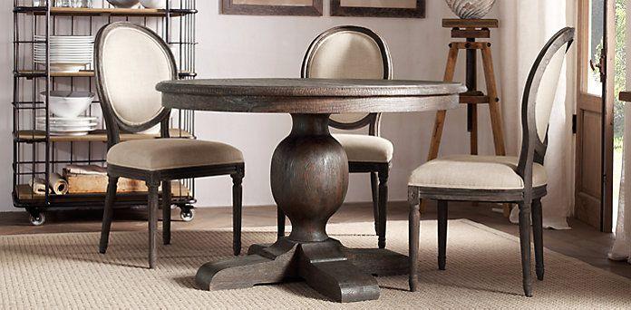 round table option \ Restoration Hardware   Dining room ...