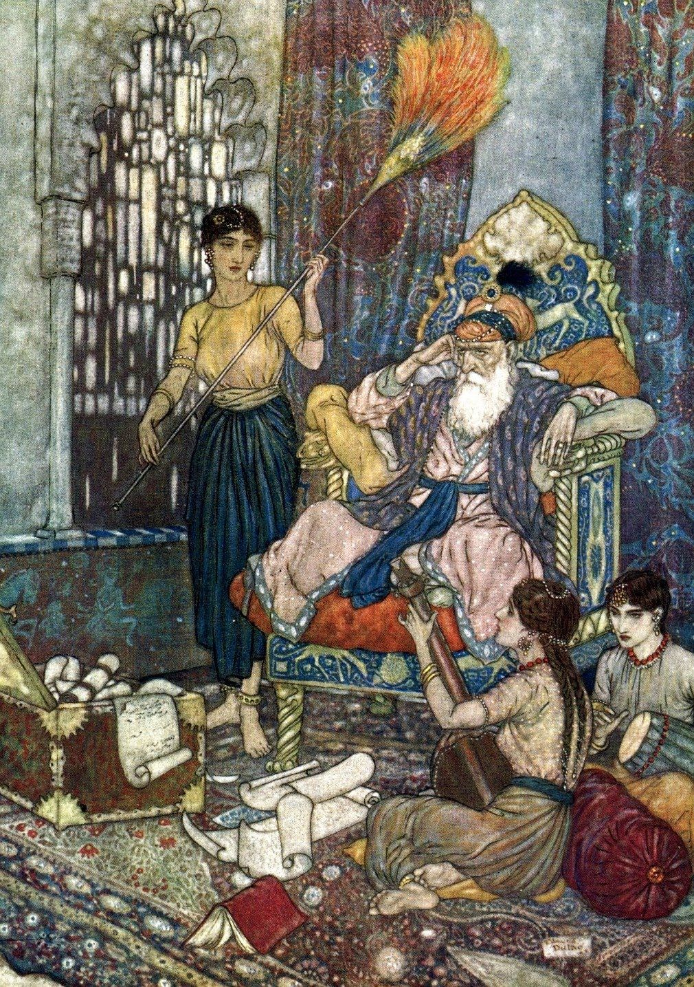 Edmund Dulac Edmund Dulac Illustration Magazine Illustration