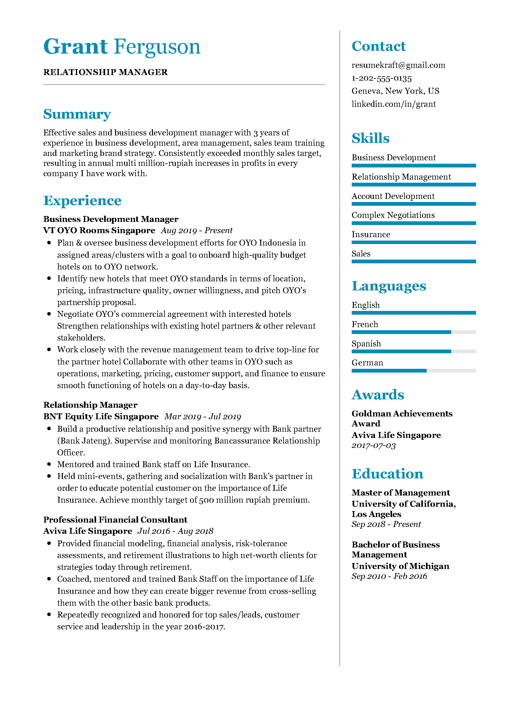 Relationship Manager Sample Resume Relationship Management Manager Resume Resume
