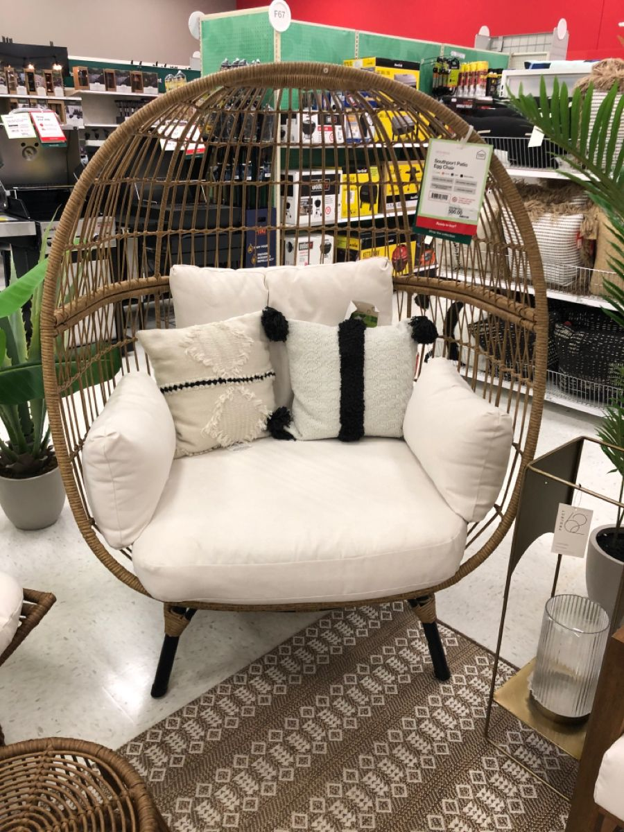 Kid friendly chair from Target