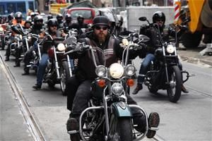 Stuff hit the fan when Hell's Angels are on the side of the angels