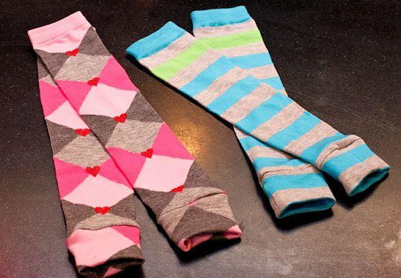 002ed57a91634 návleky na nohy, štulpny, jak ušít návleky, děravé ponožky, praktická žena,  návod na šití, přešívání, recyvěci