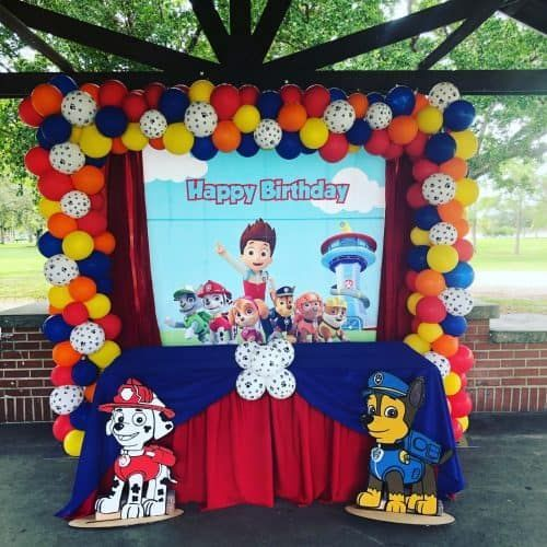Paw Patrol Birthday Party Ideas for Your Little One - Paw patrol decorations, Paw patrol birthday, Paw patrol party decorations, Paw patrol birthday party, Paw patrol balloons, Paw patrol birthday decorations - Are you ready to Pawty  Get ready to Pup Pup Boogie with these Paw Patrol Cakes, Paw Patrol Party Decor, Paw Patrol Party Supplies, Paw Patrol Party Food Ideas and more!