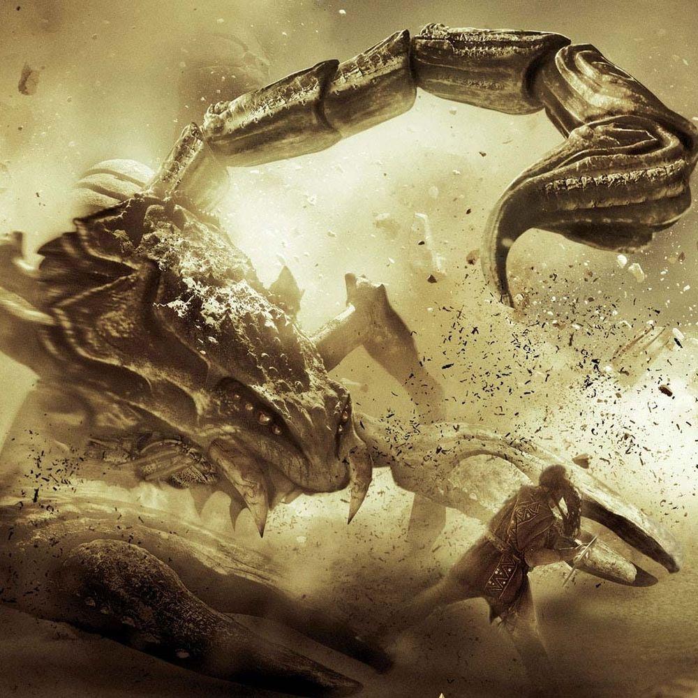 Скорпионы картинки фэнтези