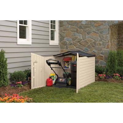 Rubbermaid Slide Lid Shed 379 00 Garden Storage Resin Sheds Garden Storage Shed