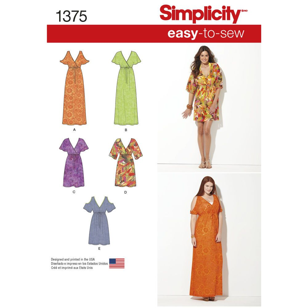 Misses and plus size easy to sew maxi dresses with faux wrap and misses and plus size easy to sew maxi dresses with faux wrap and jeuxipadfo Images