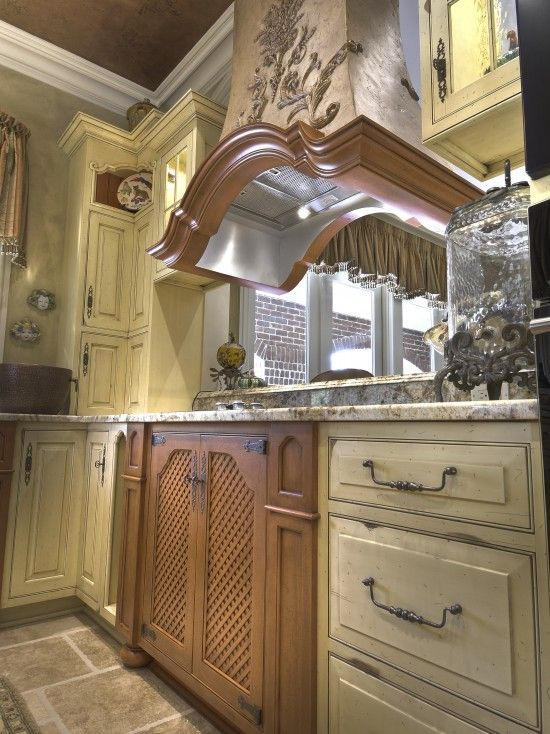 Kitchen cabinet hardware | French country kitchen cabinets ...