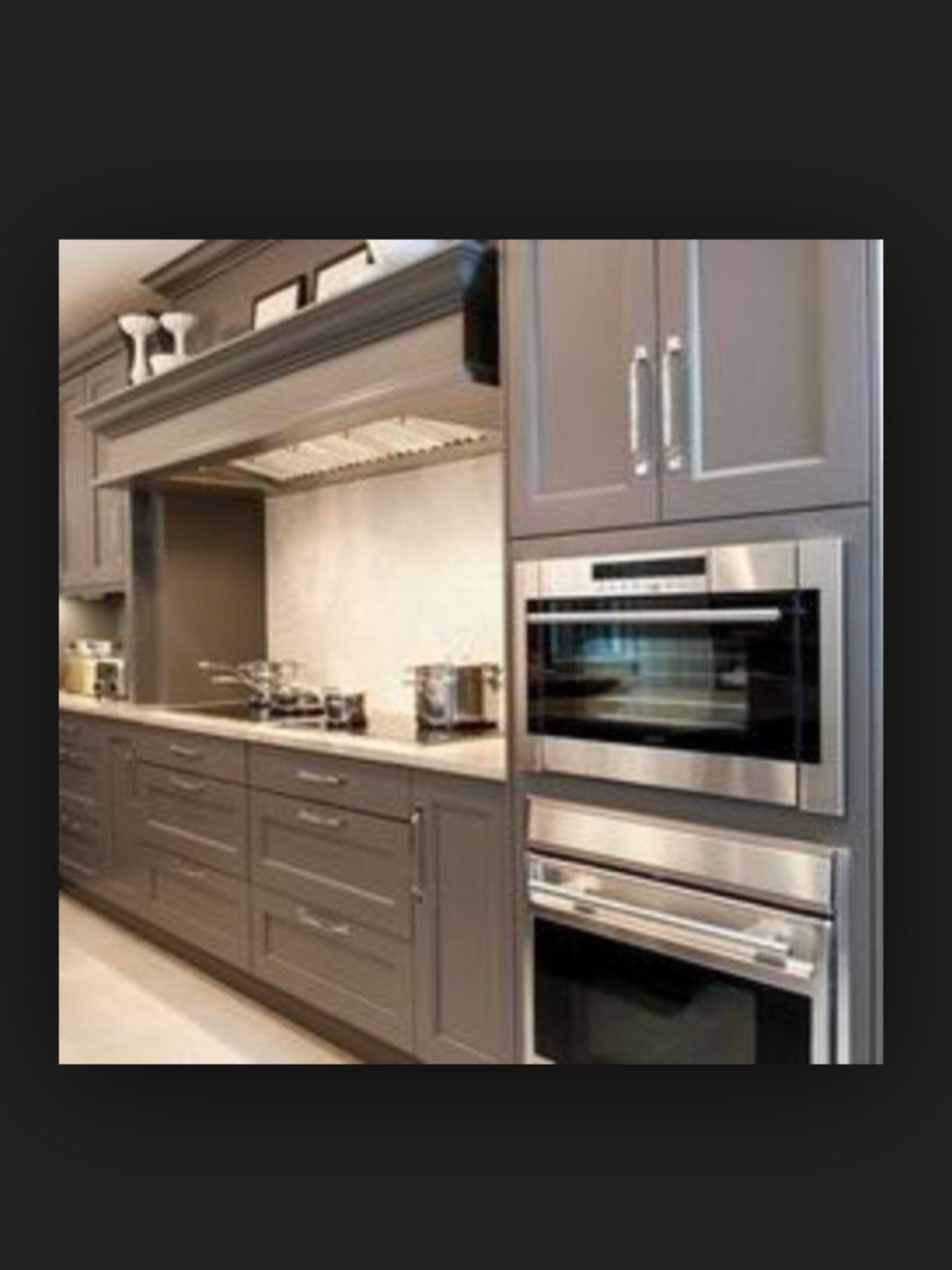 Grey Shaker Kitchen Pinterest