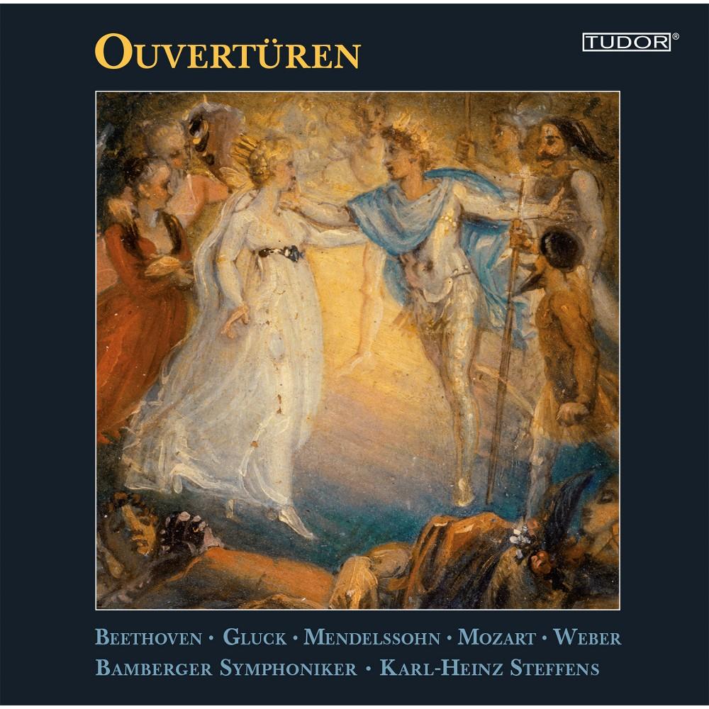 F. Mendelssohn & Bamberger Symphoniker - Mendelssohn Beethoven Cherubini Gluck: Overtures (CD)