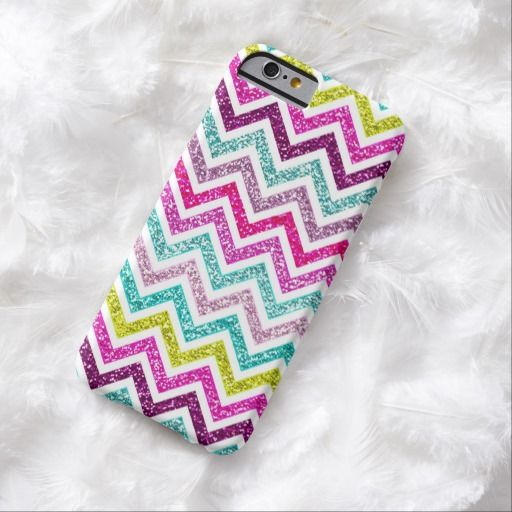 there are purchased items on the iphone chevron faux glitter rainbow coloful girly bling barely 20526