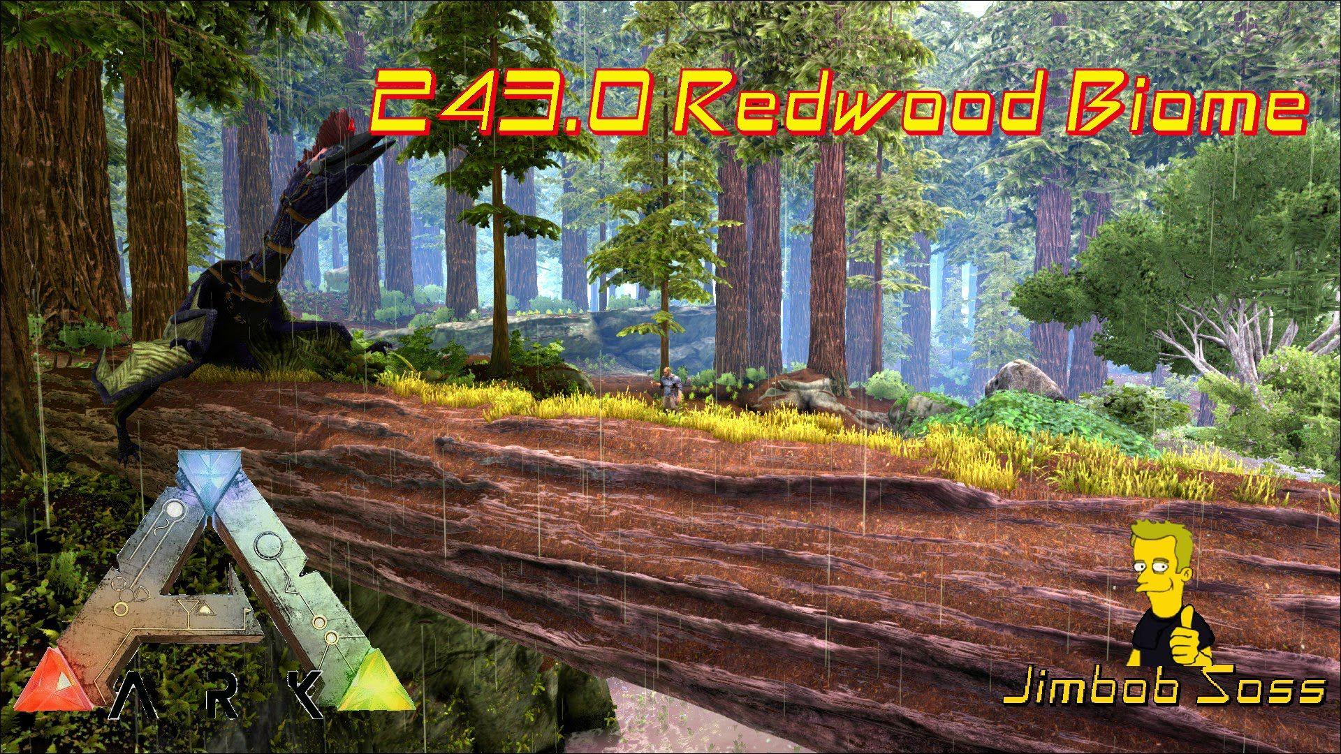 Ark Update 243 0 Redwood Biome Biomes