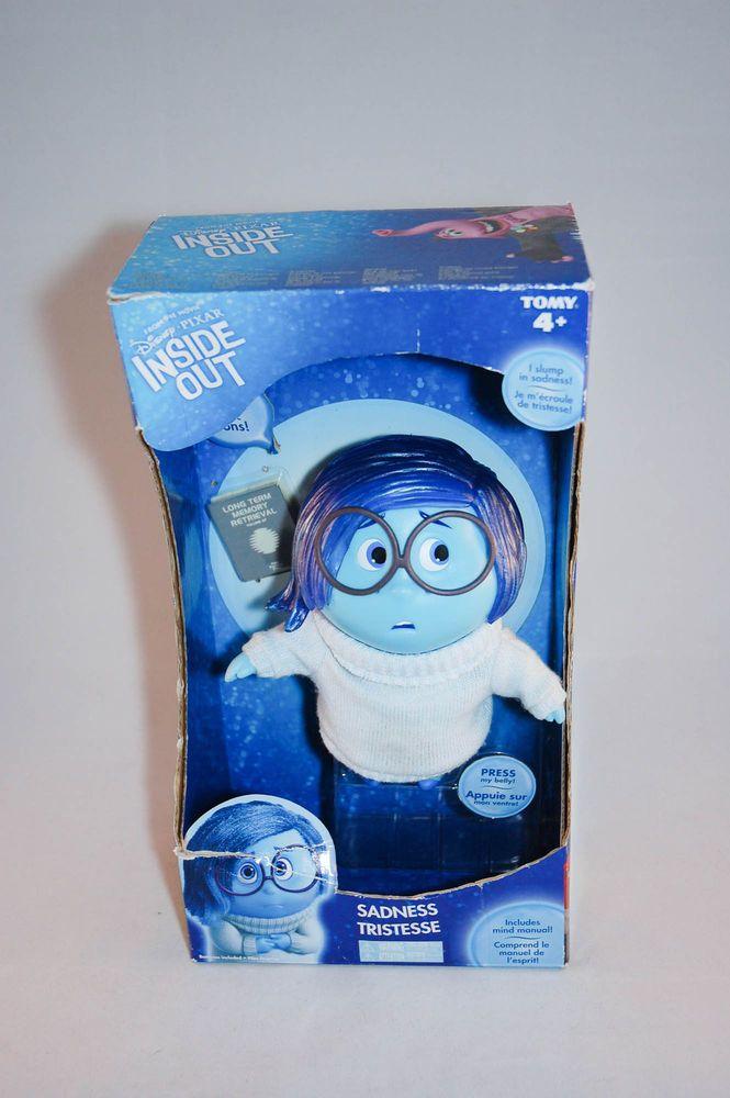 Pixar Inside Out Sadness Talking Action Figure Disney
