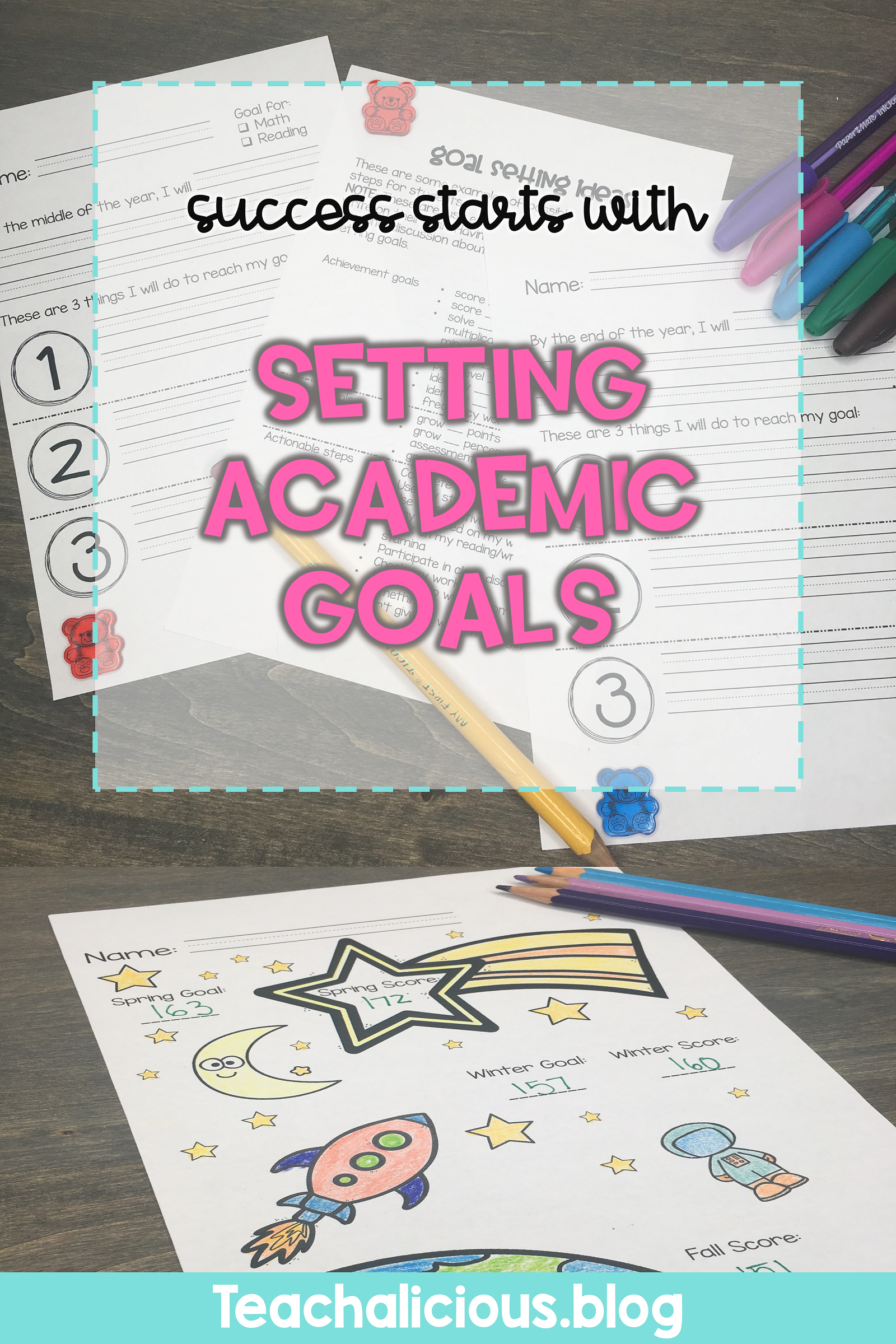 Goal Setting For Early Elementary Students