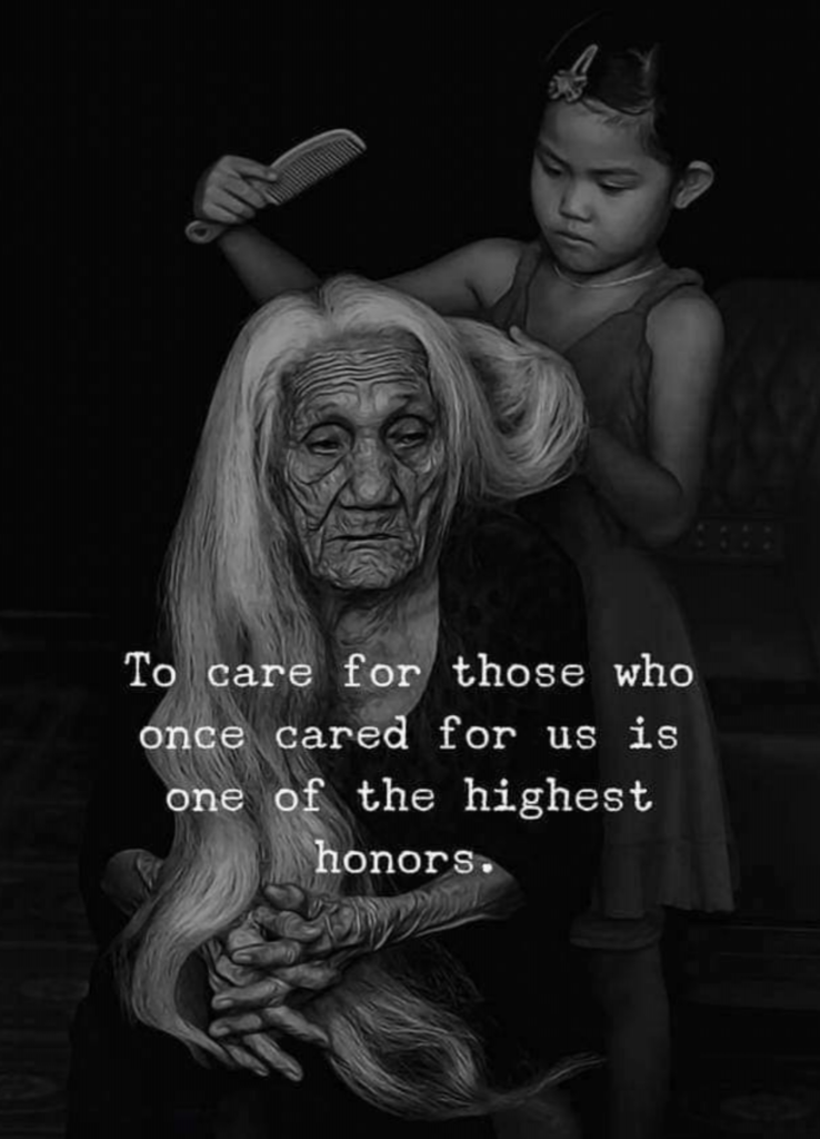 To care for those who once cared for us is one of the highest honors. www.afitcaregiver.com