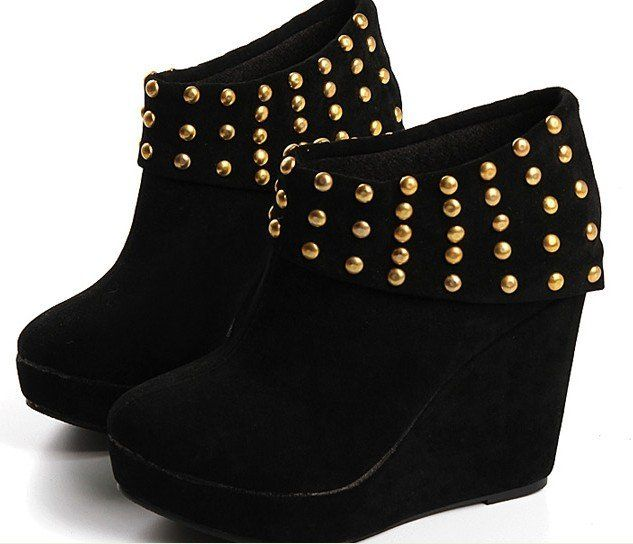 Free shipping Best selling Lady's Cute High Heel Platfrom Boots ...