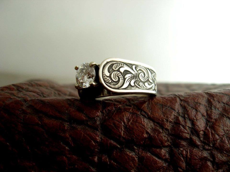 Best Wedding Ring Ever Someday Made By Travis Stringer Western Wedding Rings Cool Wedding Rings Western Jewelry Rings