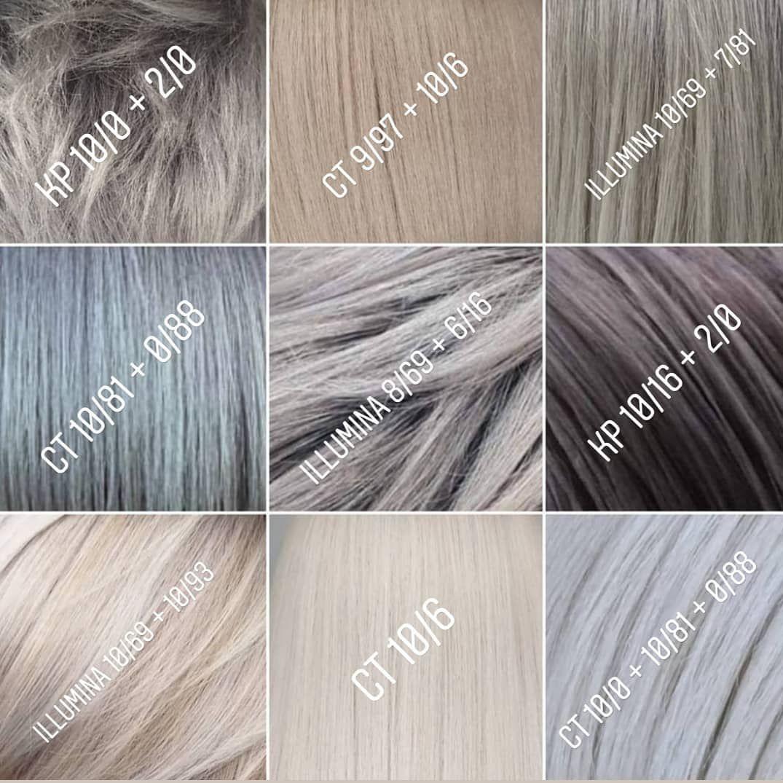 Spela On Instagram Nine Shades Of Gray Wellacolor Wellachangemylife Wellafamily Wellafor Wella Hair Color Hair Color Formulas Hair Color Techniques