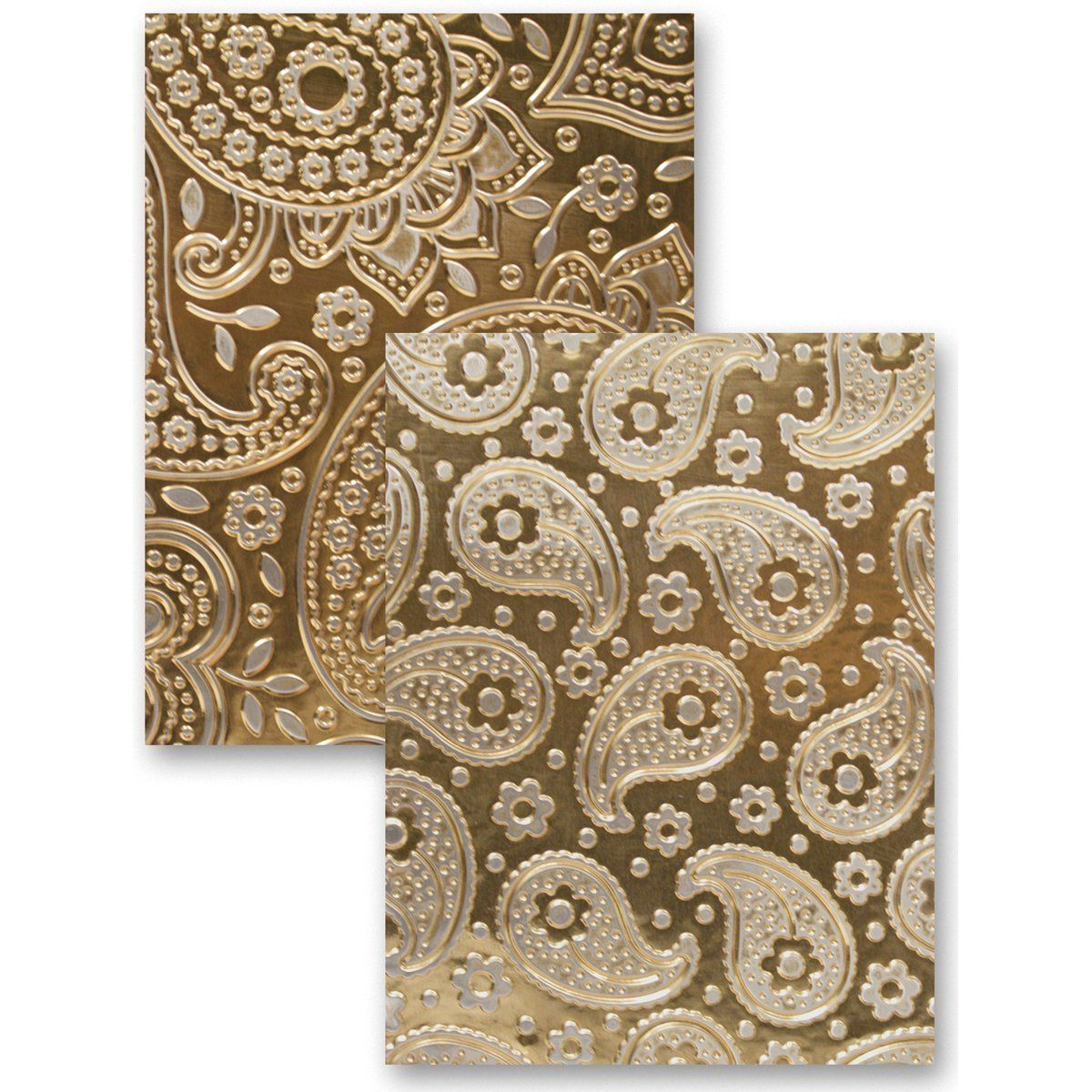 M Bossabilities Reversible A5 Embossing Folder Paisley Amazon De