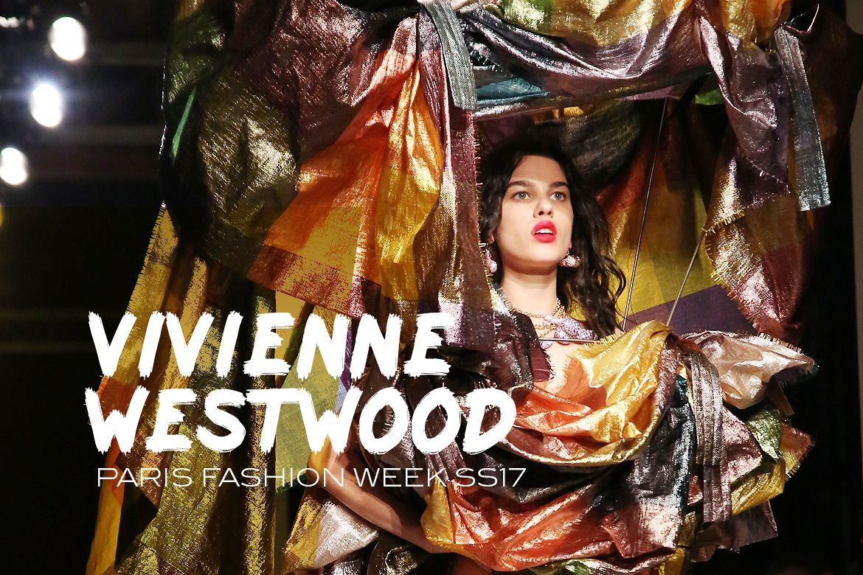 #pfw #fashion #mode #Paris #FashionWeek #SS17: #VivienneWestwood #akss17
