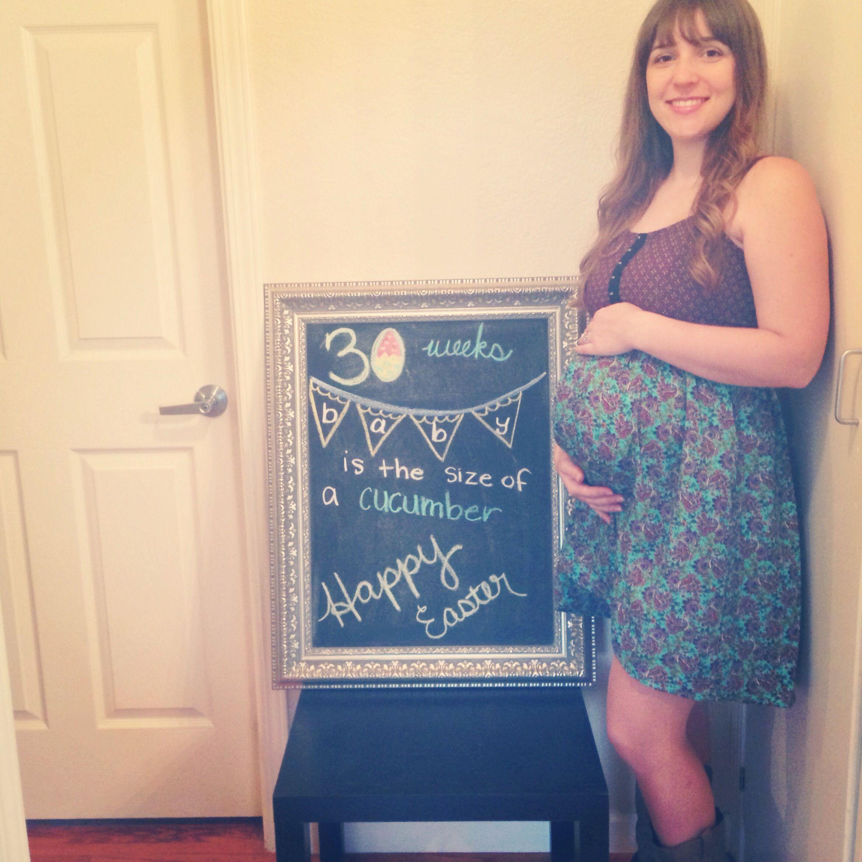 30 week baby bump Pregnancy Pinterest