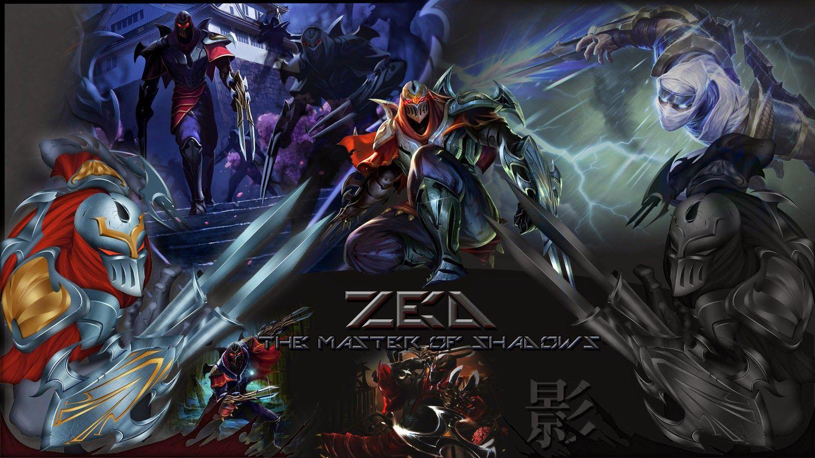 League Of Legends Zed Wallpaper Mobile Sdeerwallpaper