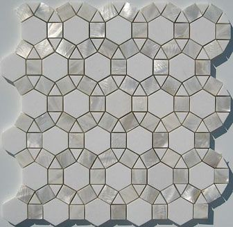 Thos Marble And Mother Of Pearl Tile Lumina Studium
