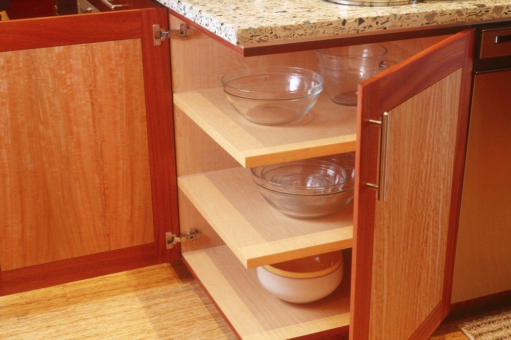 Lovely Corner Base Cabinet Carousel