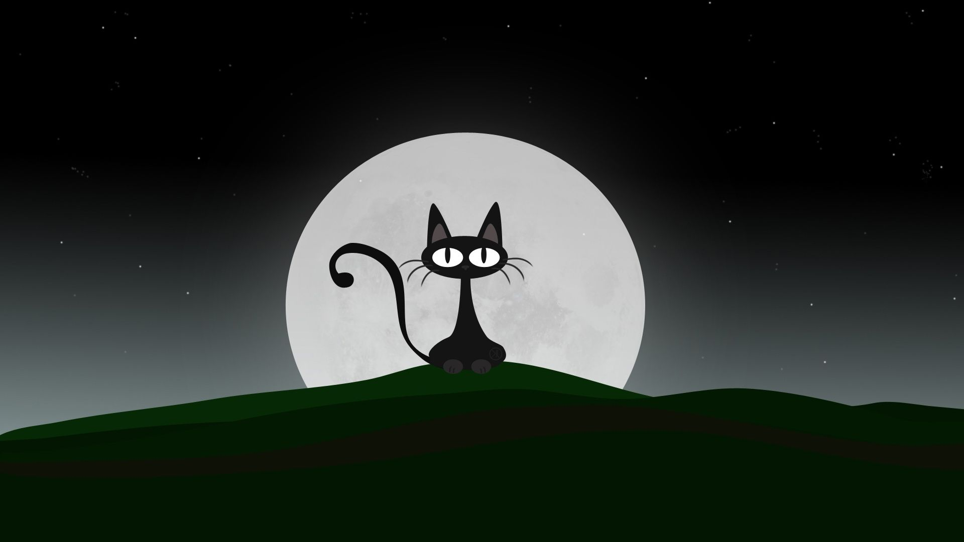 Black Cat High Definition Wallpapers Hd Wallpapers Cat Wallpaper Black Cat Art Cat Illustration
