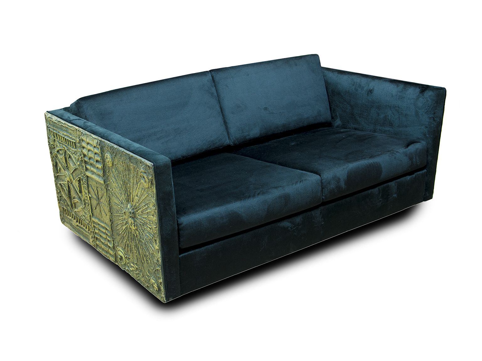 Incroyable Adrian Pearsall Brutalist Style Loveseat | Seating Collection | Lynn Goode  Vintage | Furniture + Decorative Arts