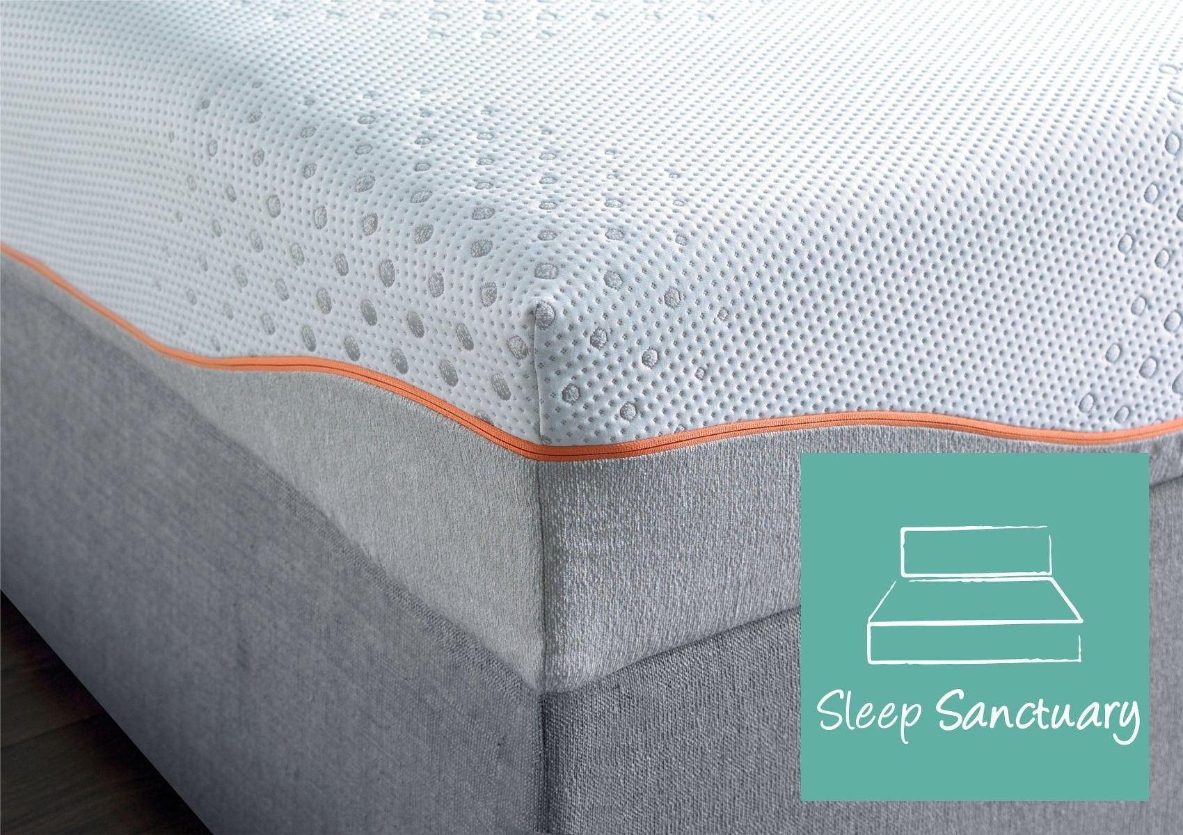 sleep sanctuary elite gel memory pocket 1000 mattress memory foam