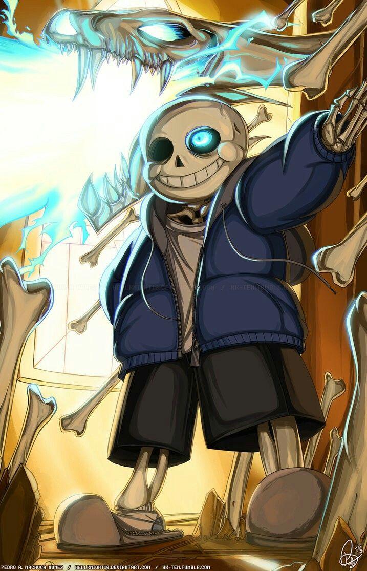 SANS_the_skeleton Undertale, Undertale fanart