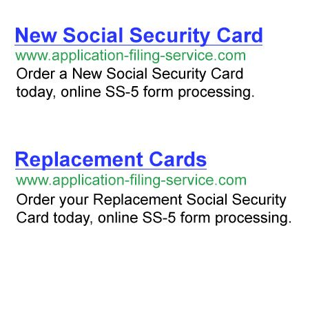 Get Or Replace A Social Security Card Lost Social Security Card - social security application form