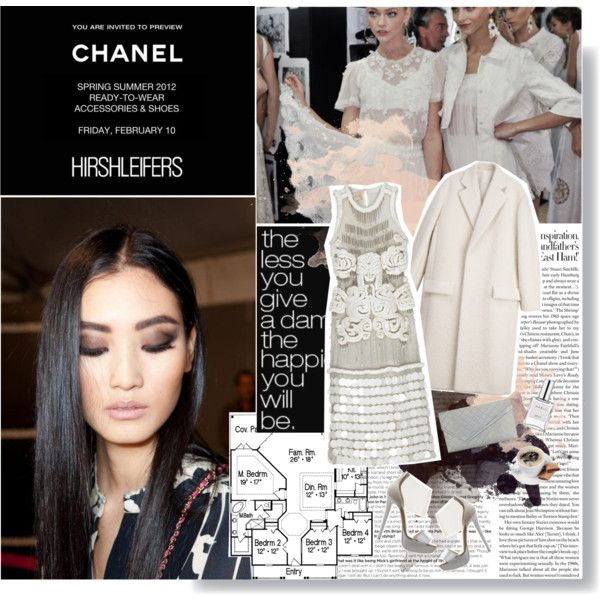 """Glam White"" by angielou on Polyvore"