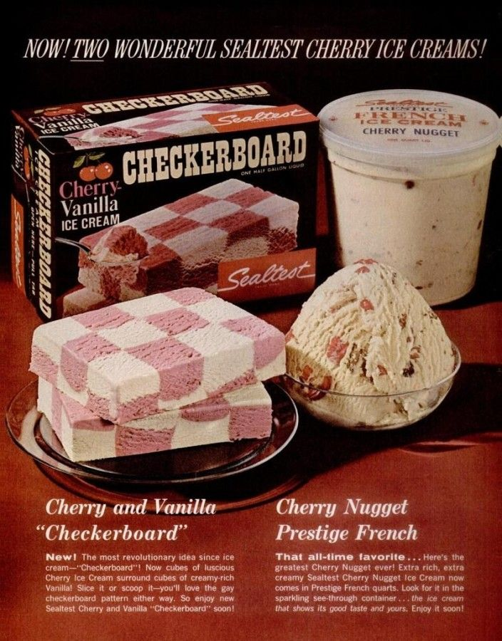 sealtest ice cream cake ice cream weekend event sealtest ice cream 1950s and 1960s