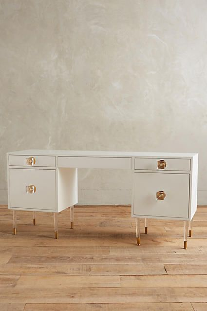Tracey Boyd Lacquered Regency Desk