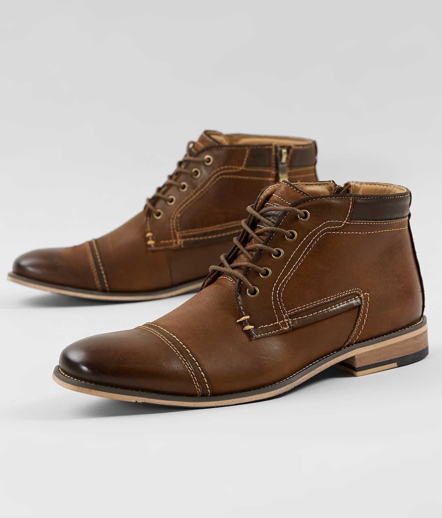 huella Campo Más allá  Steve Madden Joyce Shoe - Men's Shoes in Dark Tan | Buckle | Leather shoes  men, Mens fashion rugged, Shoes mens