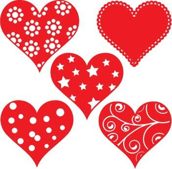 Free SVG Hearts