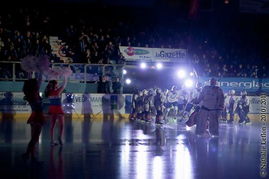 L'équipe de France de Hockey sur Glace en Test match à Montpellier