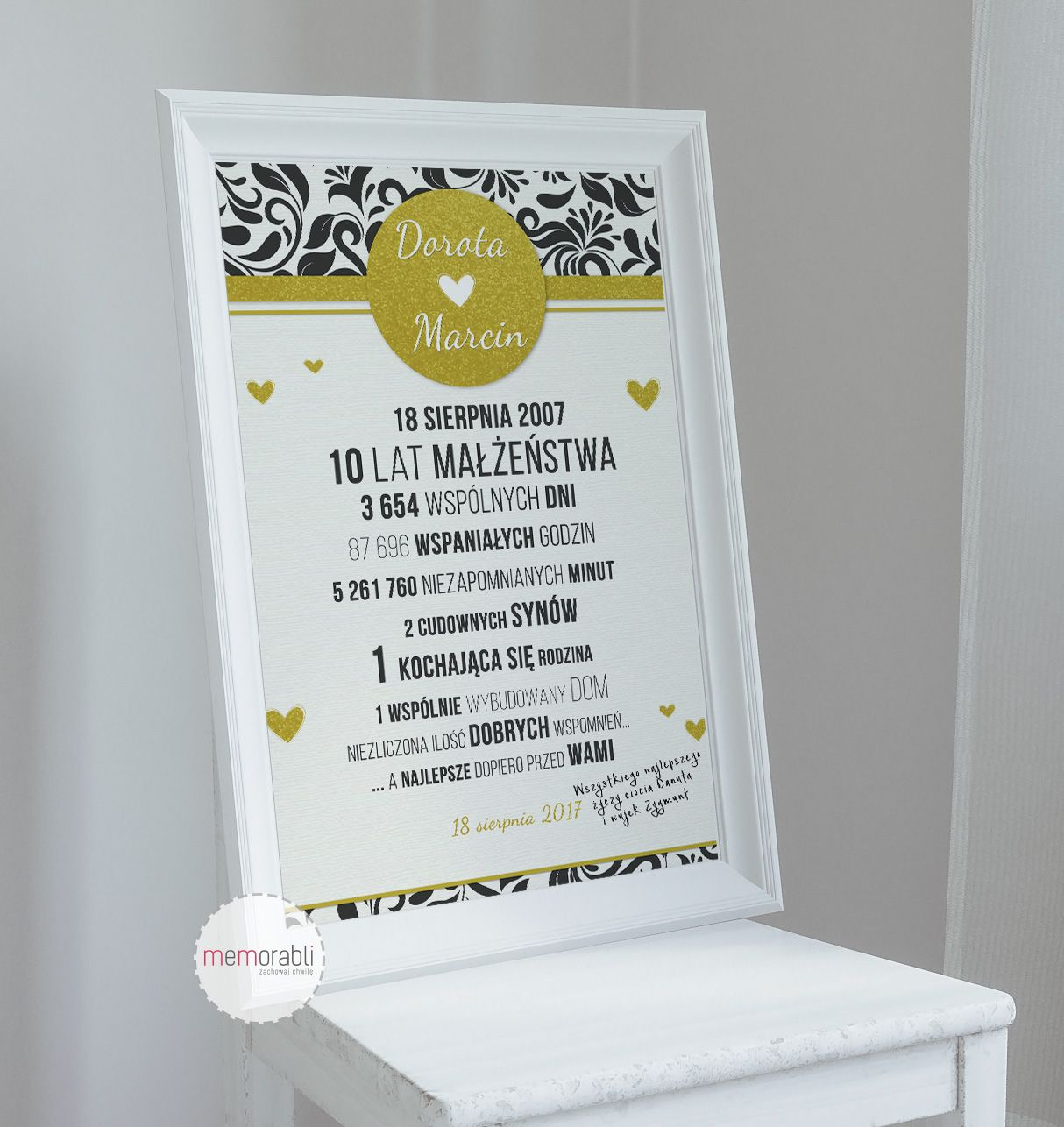 Plakat Na Rocznice Slubu Walentynki Love Wedding Rocznica Valentinesday Anniversary Memorabli Handmade Plakaty Poster Nasc Diy And Crafts Gifts Diy
