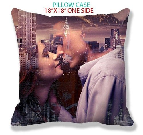 city of bones pillow case 18''x18'' one side | TheYudiCase - Accessories on ArtFire
